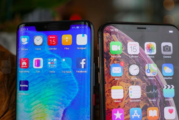 Huawei, Appleatzean uztea lortu zuen