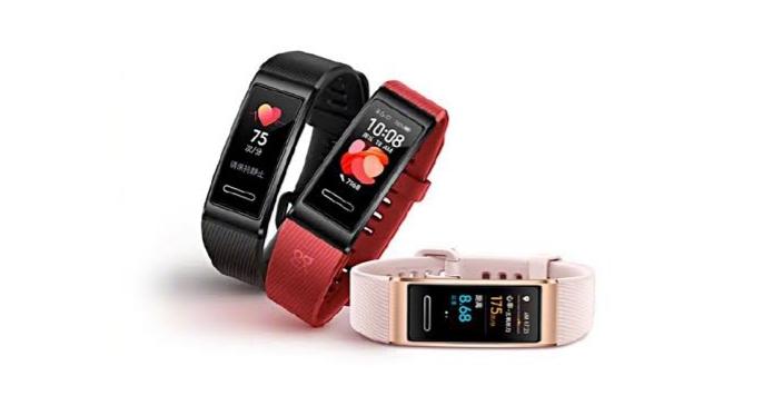 Huawei Band 4 Pro eskaintzen du SpO2, NFC eta GPSa