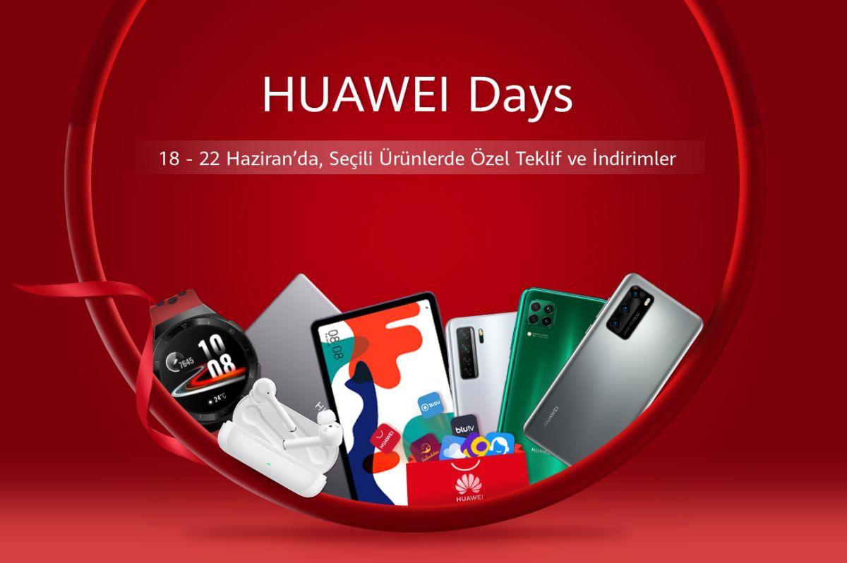 Huawei Egunak eskaintza bereziak dituzten erabiltzaileen zain daude