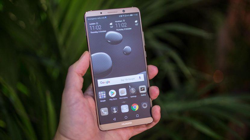 Huawei Mate 10erako oso espero den eguneratzea kaleratu da