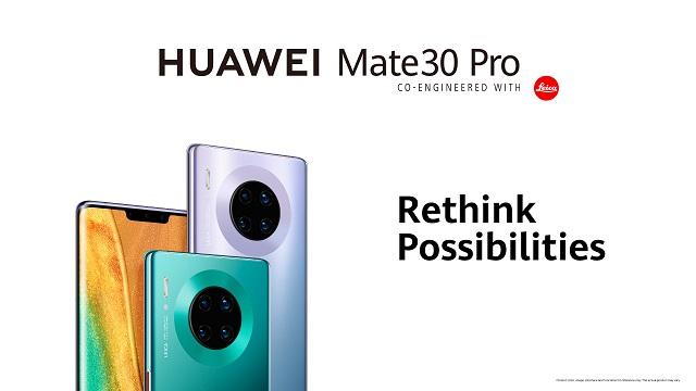 Huawei Mate 30 Pro azkenik salmentan doa Polonian