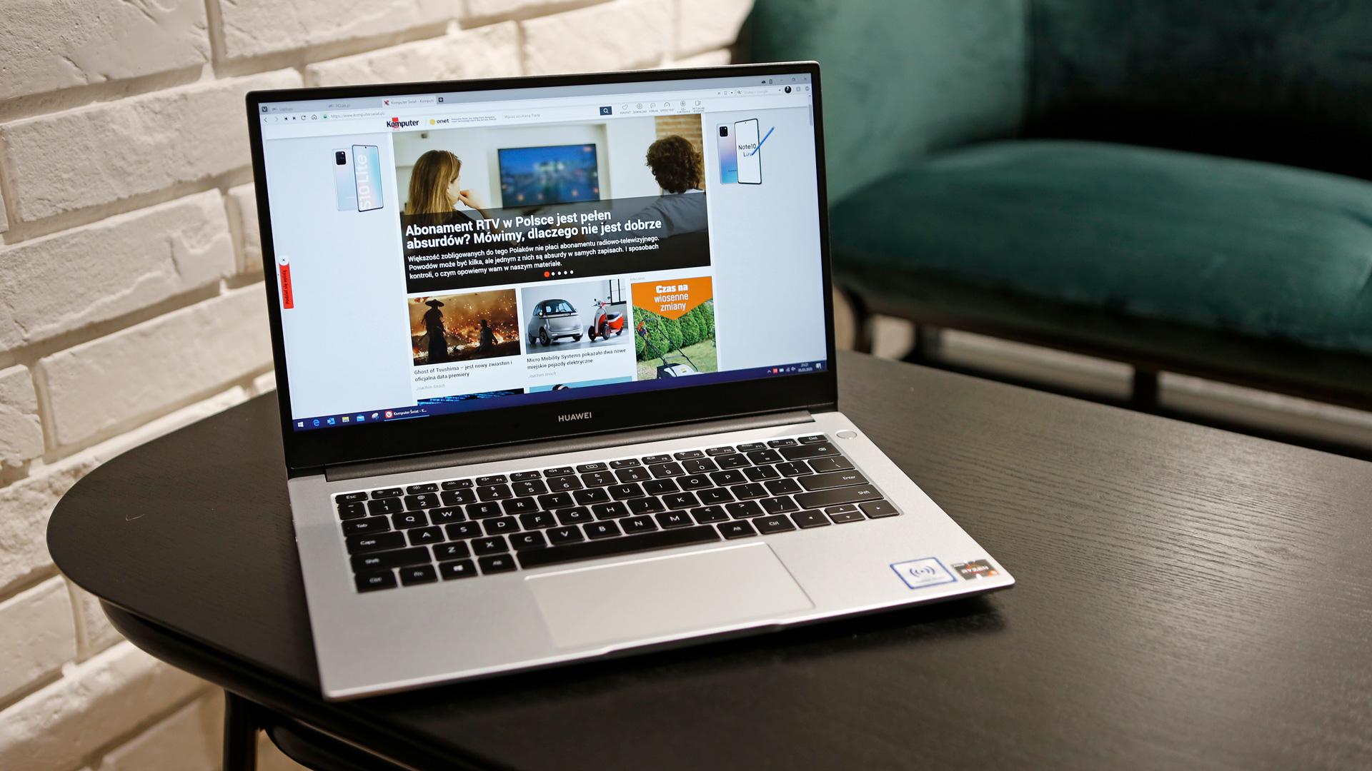 Huawei MateBook D14 (2020) berrikuspena - ordenagailu eramangarririk onena (trinkoa) PLN 3.000 arte?