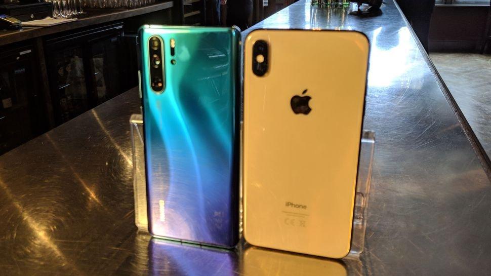 Huawei P30 Pro eta iPhone XS Max kameraren konparazioa
