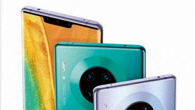 Huawei-k azkenean Mate 30 familia aurkeztu du Europara