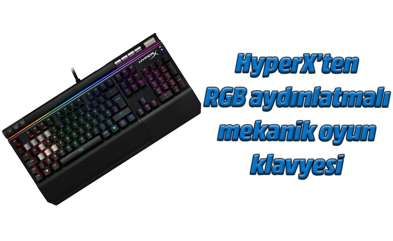 HyperX Alloy Elite RGB berrikuspena