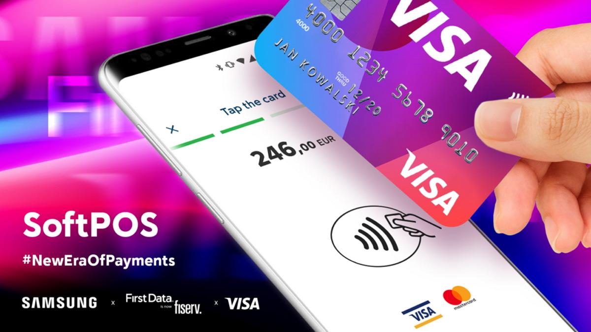 IFA 2019 SoftPOS - Txandak smartphones eta tableta harremanik gabeko ordainketa terminal batera
