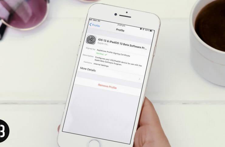 IOS 13 nola instalatu.3 Eta iPadOS 13.3 Beta publikoa 4 IPhone eta iPad-en