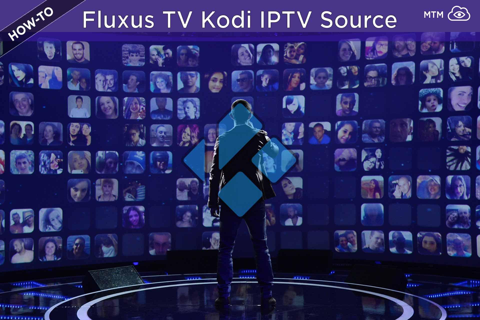 IPTV doako estekak lan egiten Fluxus TV Kodi M3U erreprodukzio-zerrenda 2020