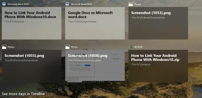 Ikusi Chrome jarduera aktiboki Windows 10 Kronologia