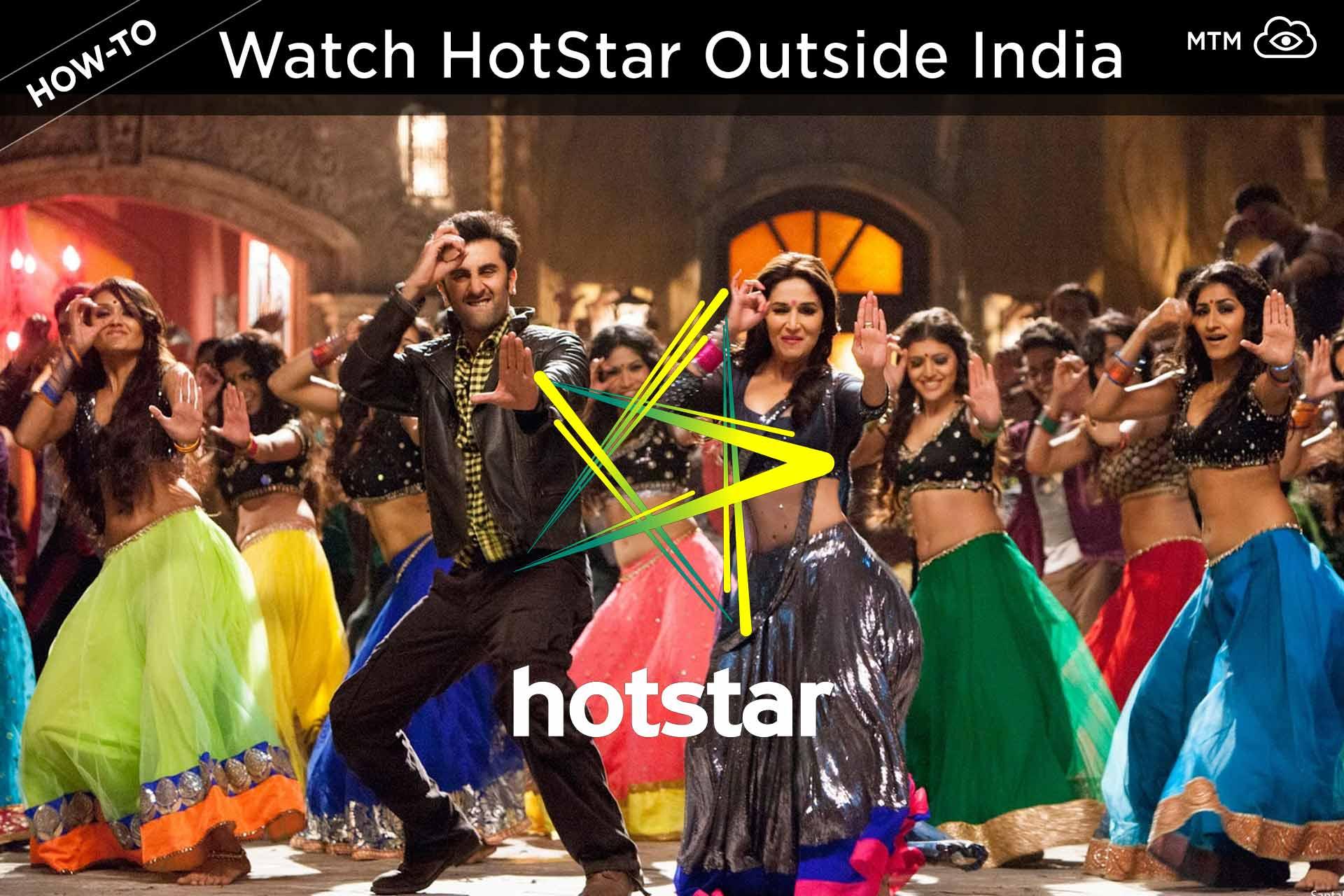 Ikusi Hotstar zuzeneko telebista, filmak, kilker eta gehiago Indiatik kanpo
