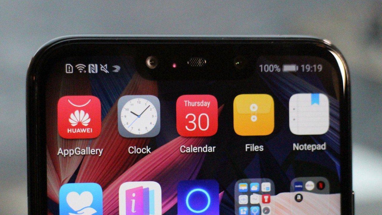 Ikusmen berriak filtratu dira Huawei Mate 20 Pro-rekin