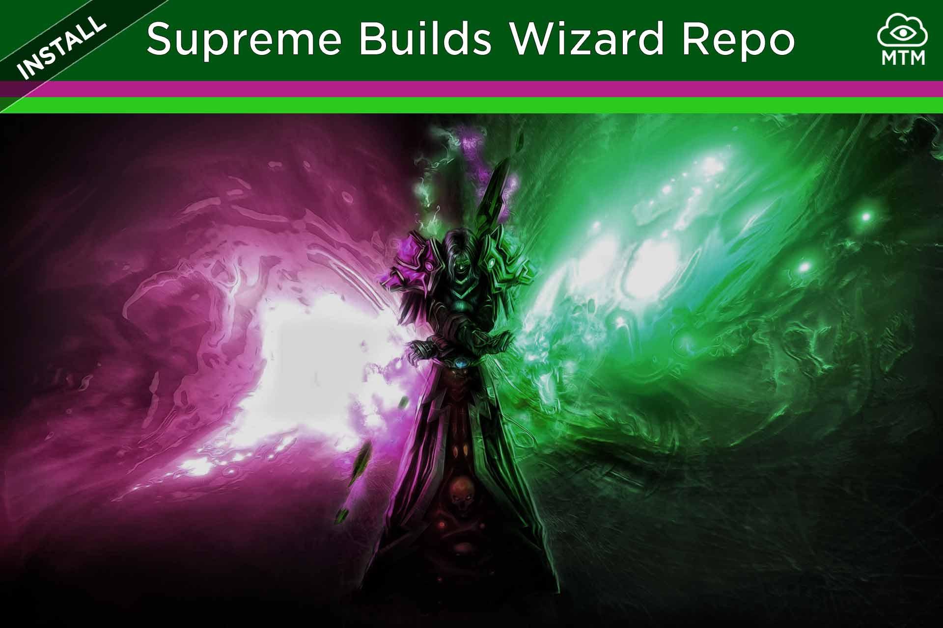 Instalatu Suprema Builds morroiaren Kodi Biltegia