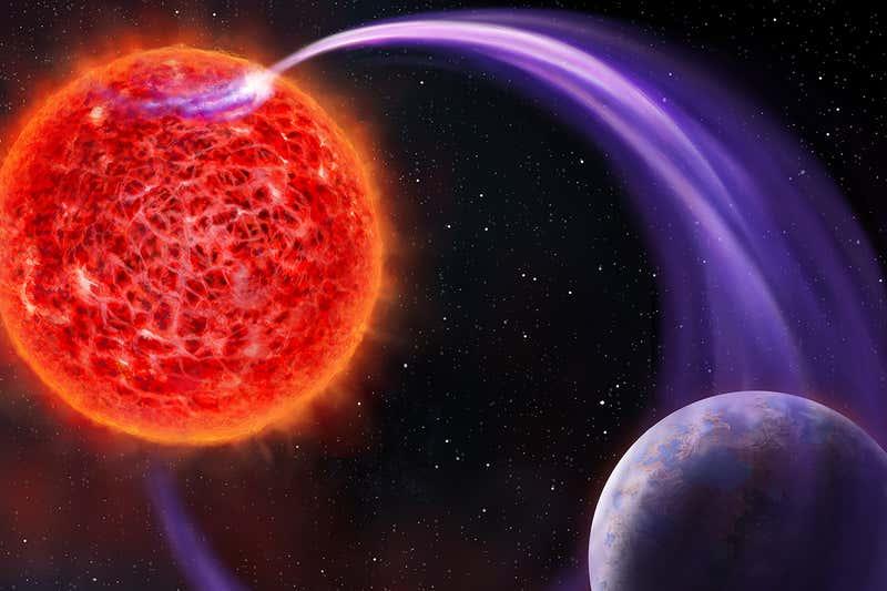Irrati-astronomoek dinamo elektriko bat bezala funtzionatzen duen planeta aurkitu dute