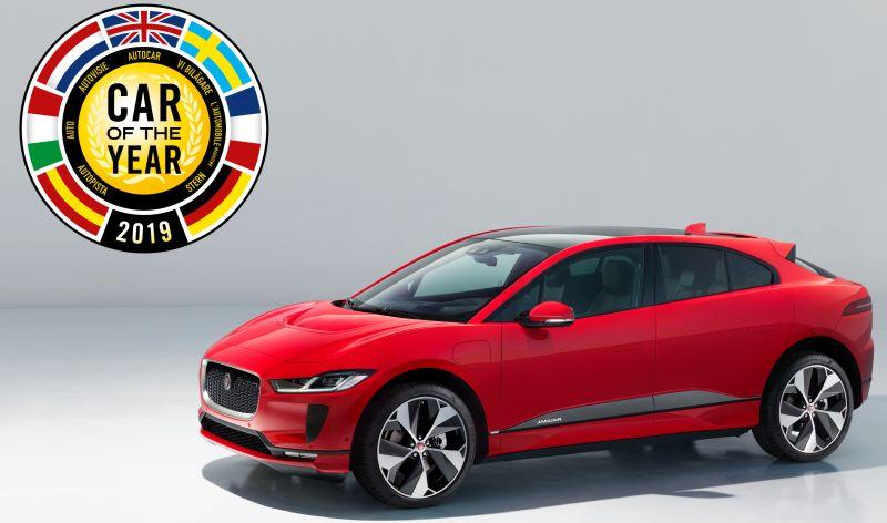 Jaguar I-PACE aukeratu zuten urteko auto gisa 1