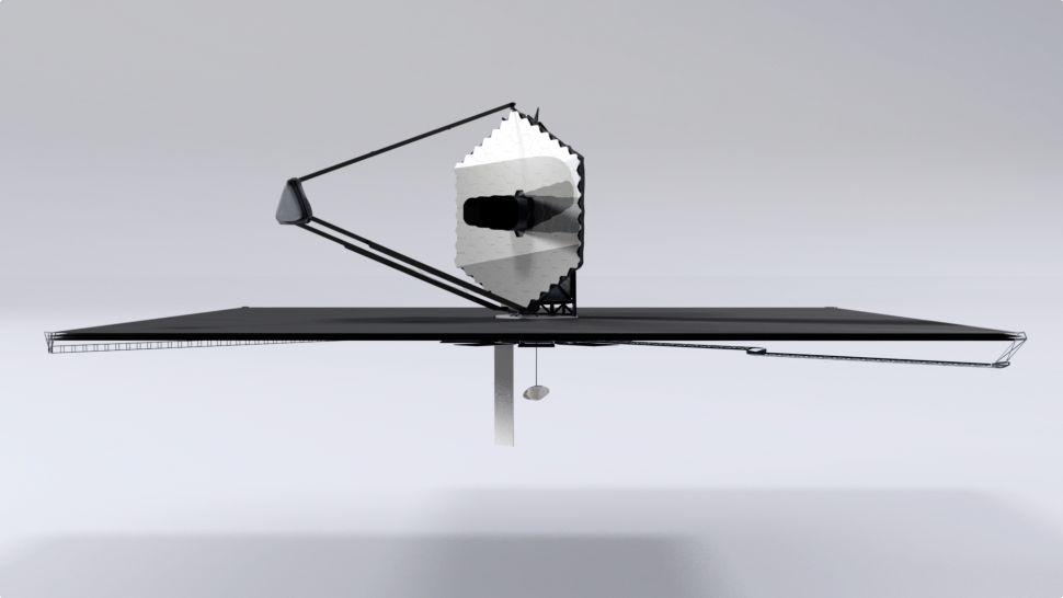 James Webb Space Teleskopioa oraindik ez da hasi, eta NASA dagoeneko bere oinordetzan pentsatzen ari da