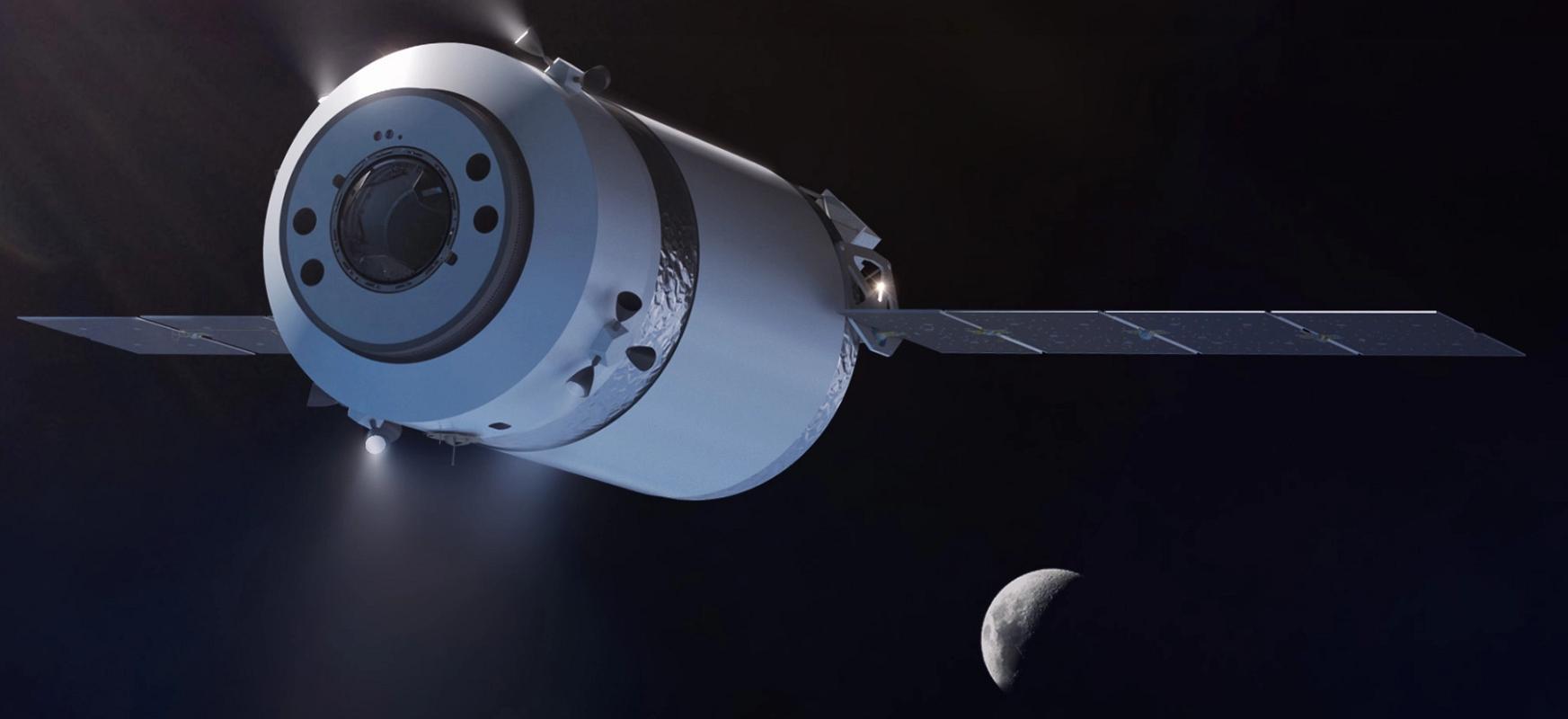 SpaceXek NASAren kargak eramango ditu ilargira