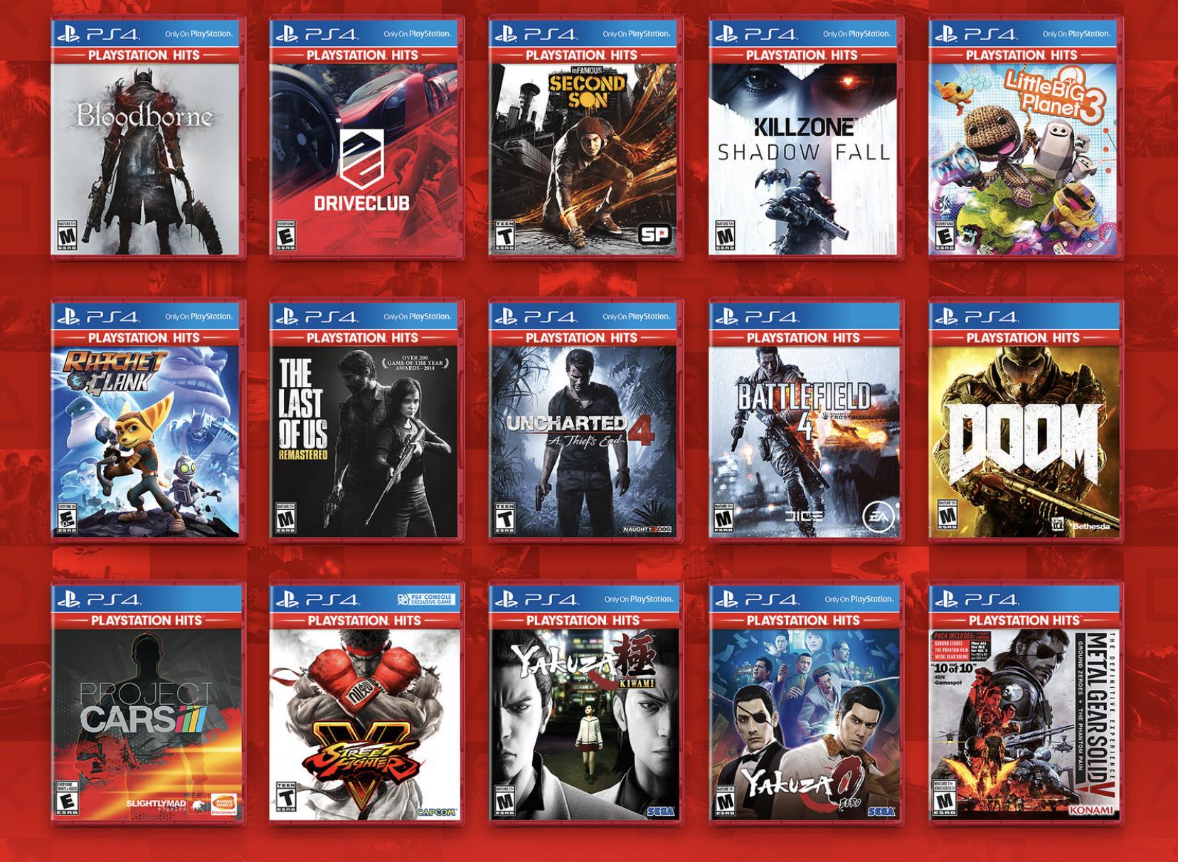 Joko berriak gehitu dira PlayStation Hits zerrendan