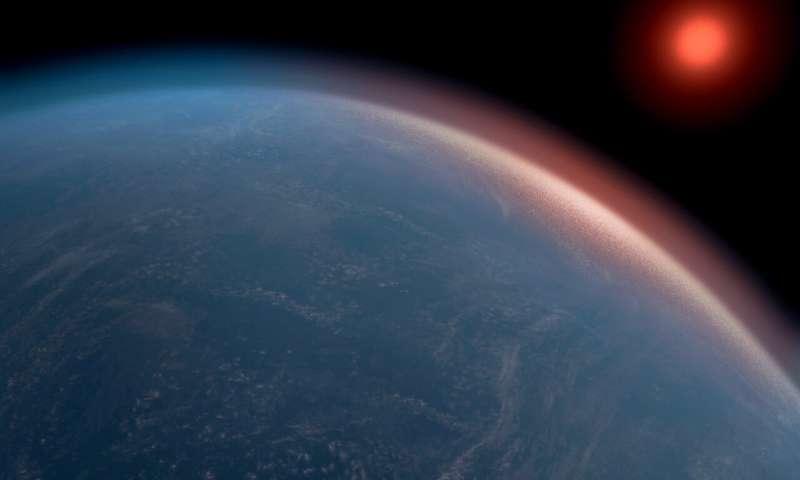 K2-18b exoplaneta bizitza Lurra baino askoz ere handiagoa izan daitekeela planetaren froga da