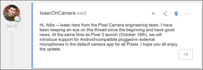 Kanpoko laguntza teknikoa Google Pixel kameretara dator aste honetan, Horra zergatik da ikaragarria 2