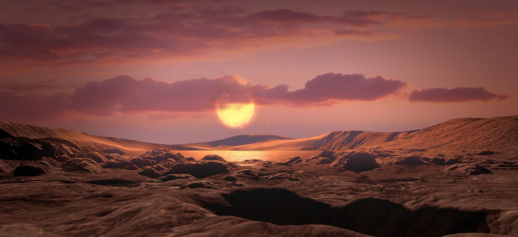 Kepler teleskopioko datu itsaso batean ezkutatu zen.  Lurra bezalako exoplaneta aurkitu da