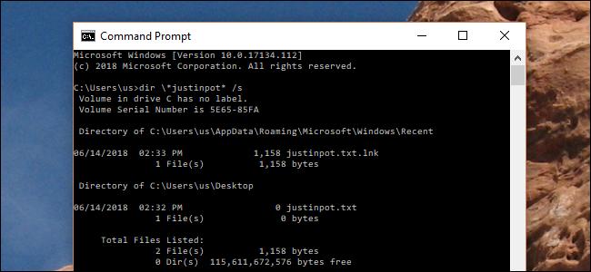 Komando honek agindutako trikimailuak modu azkarragoak bilatzen ditu Windows Explorer 1