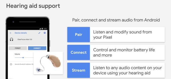 Konektatu Android entzumen aparatuekin