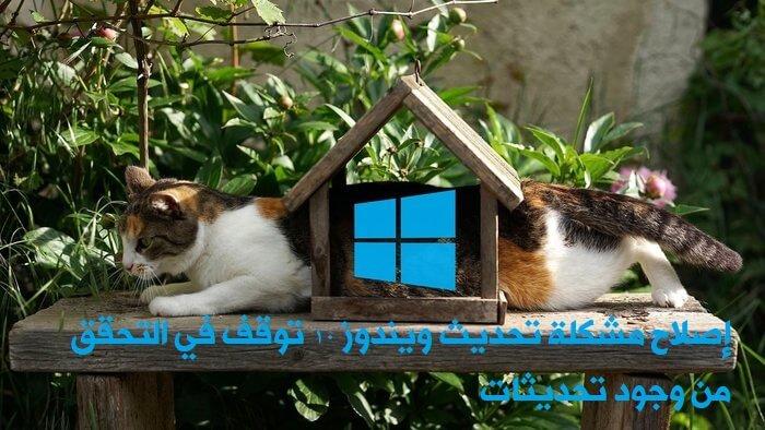 Konpondu Windows 10 eguneratzeko arazoa eguneratzeak egiaztatzeari uzten badiogu