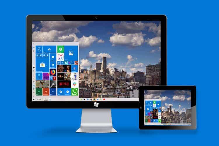 Kontrolatu Windows ordenagailuko pantaila iPadetik