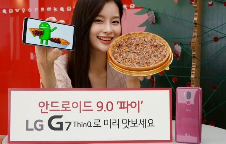 LG G7 ThinQ-erako Android Pie beta abiarazi da