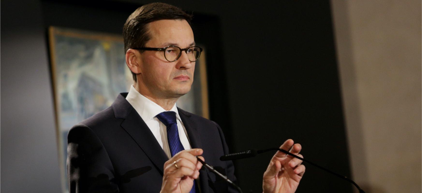 Lehen ministroak Bravo-CRP bigarren alerta maila sartu du Polonia osoan