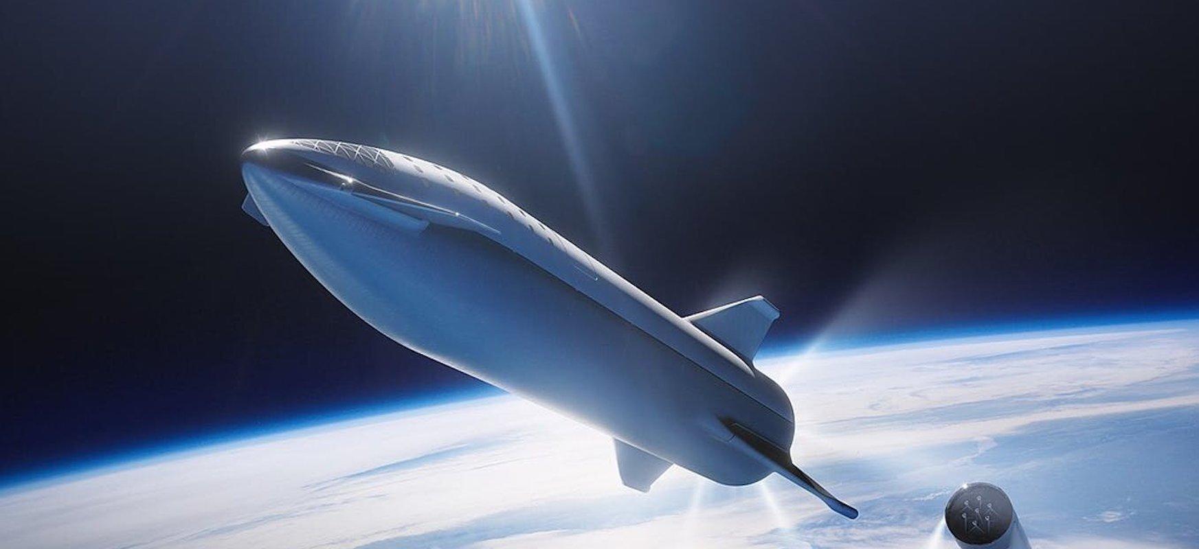 Leherketa?  Berdin dio.  SpaceX-ek Starship orbitara bidali nahi du aurten beranduago