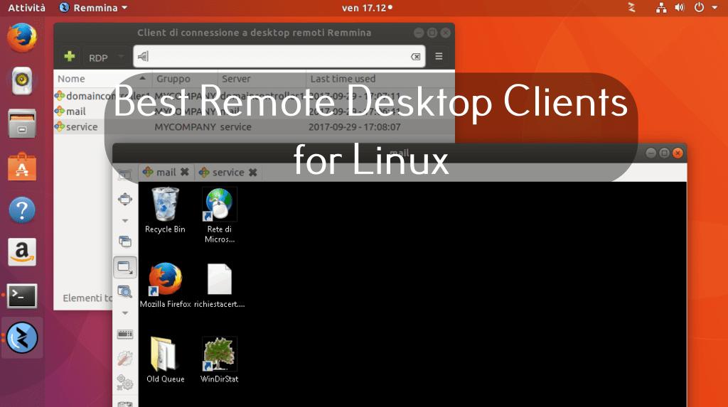 Linuxerako RDP onena Urruneko mahaigaineko bezeroak 2020an