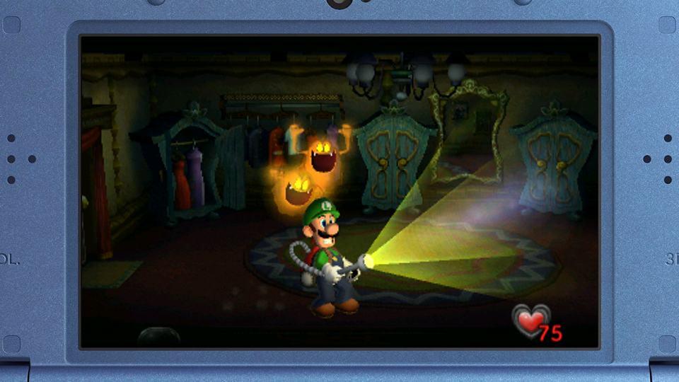 Luigi's Mansion Nintendo 3DS Review 1