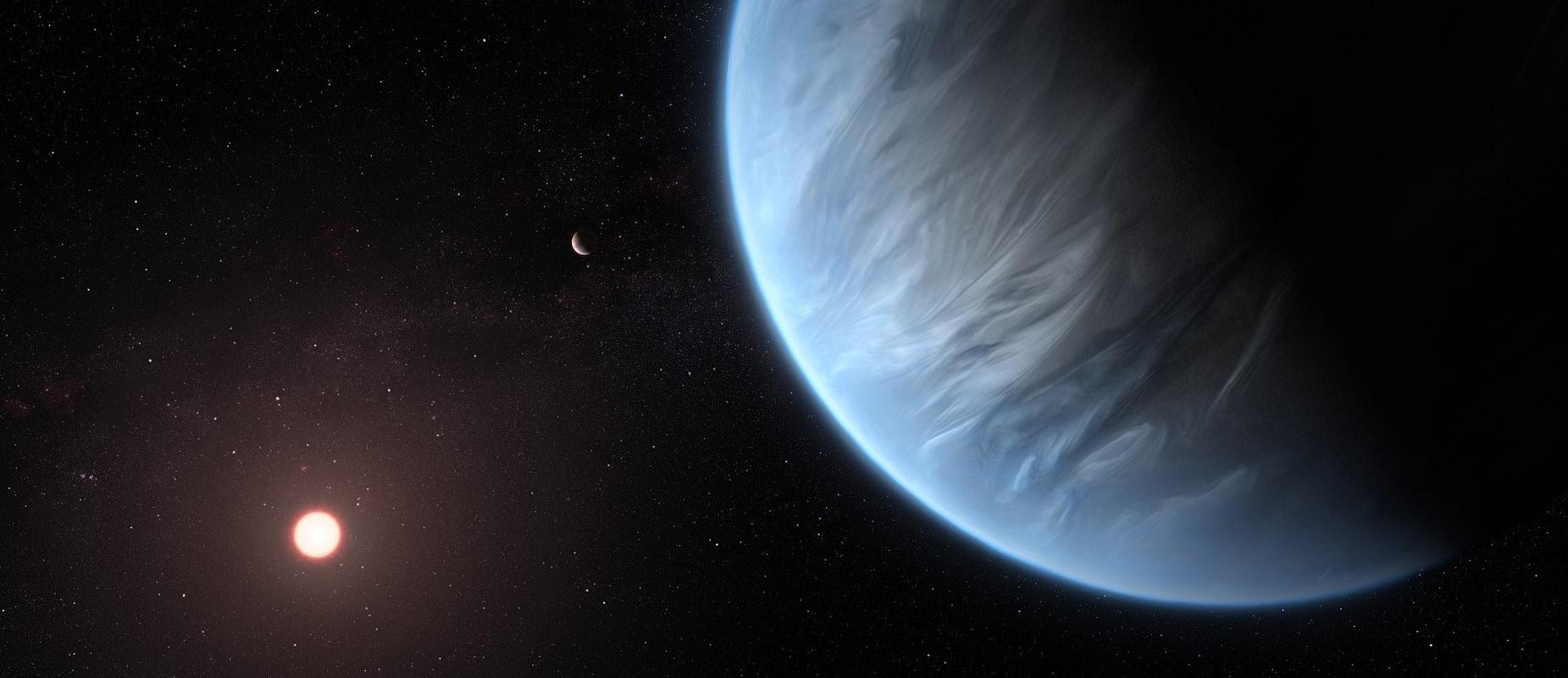 Lur super harkaitz bat nano marroi baten inguruan biratzen da.  Ezohiko planeta aurkitu da