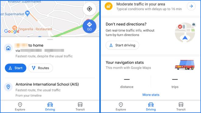 Google Maps fitxa berria