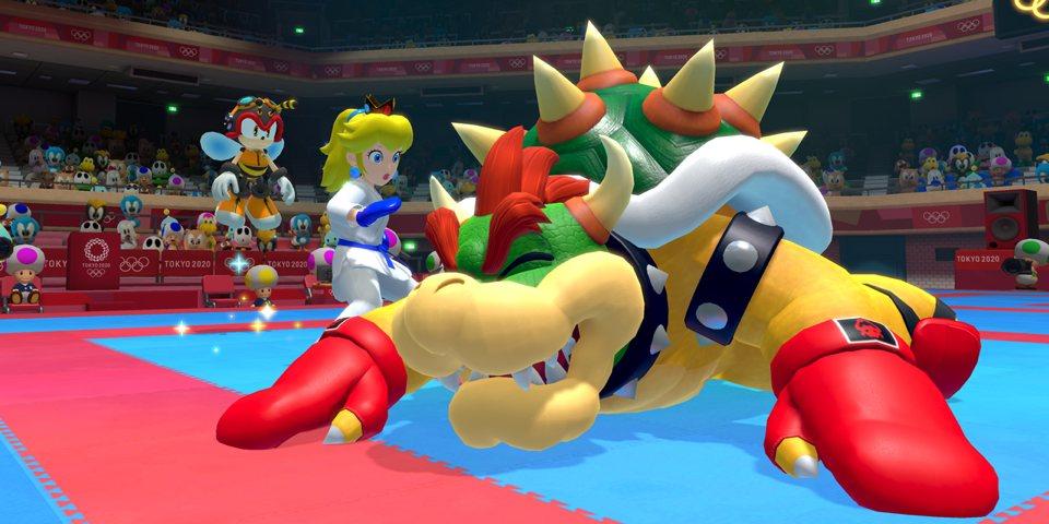 Mario & Sonic Tokyo 2020ko Olinpiar Jokoetan 1