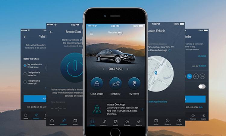 Mercedes aplikazioak erabiltzaileen datuak filtratu ditu