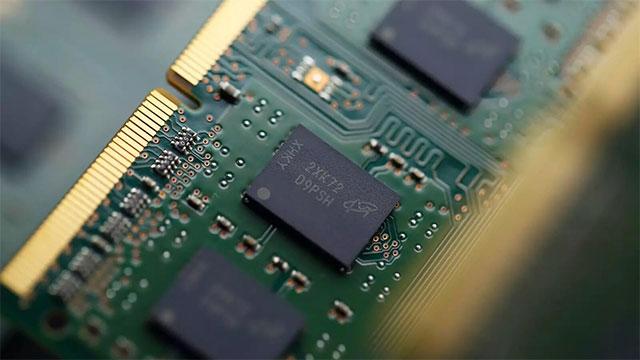 Micron-ek 16 gigabyte DRAM memoria chipen produkzio masiboa hasi zuen 1z nm prozesuan