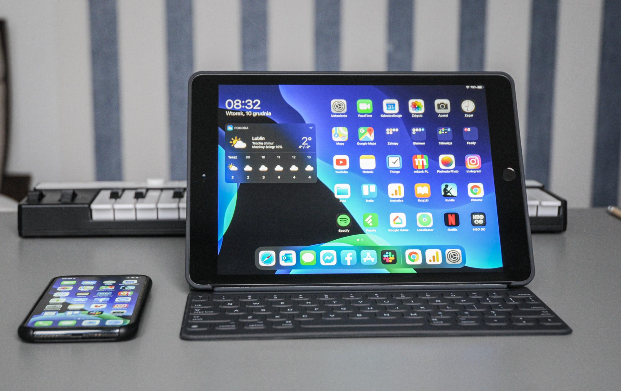 Microsoft Office iPad-en trackpad eta teklatu laguntza osoarekin.  Zergatik behar dugu Azalera?