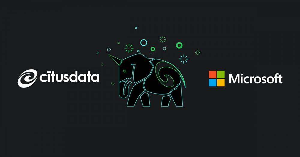 Microsoftek Citus Data Turkiako software konpainia eskuratu zuen.