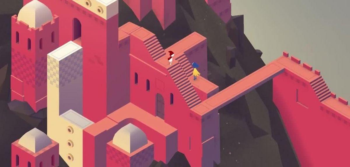 Monument Valley 2 eskuragarri doan Android eta iOS-en.  Ia perfektua da