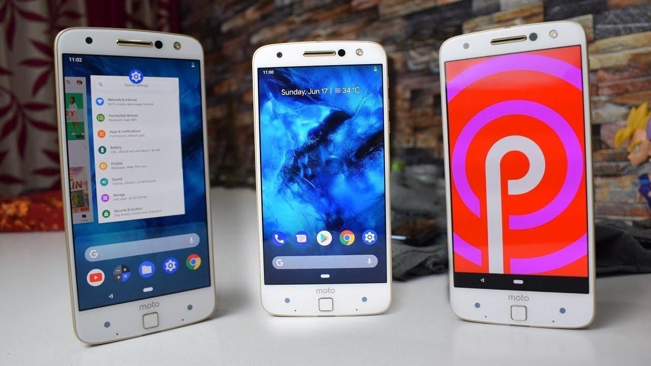 Moto X4 için Android 9.0 Pie