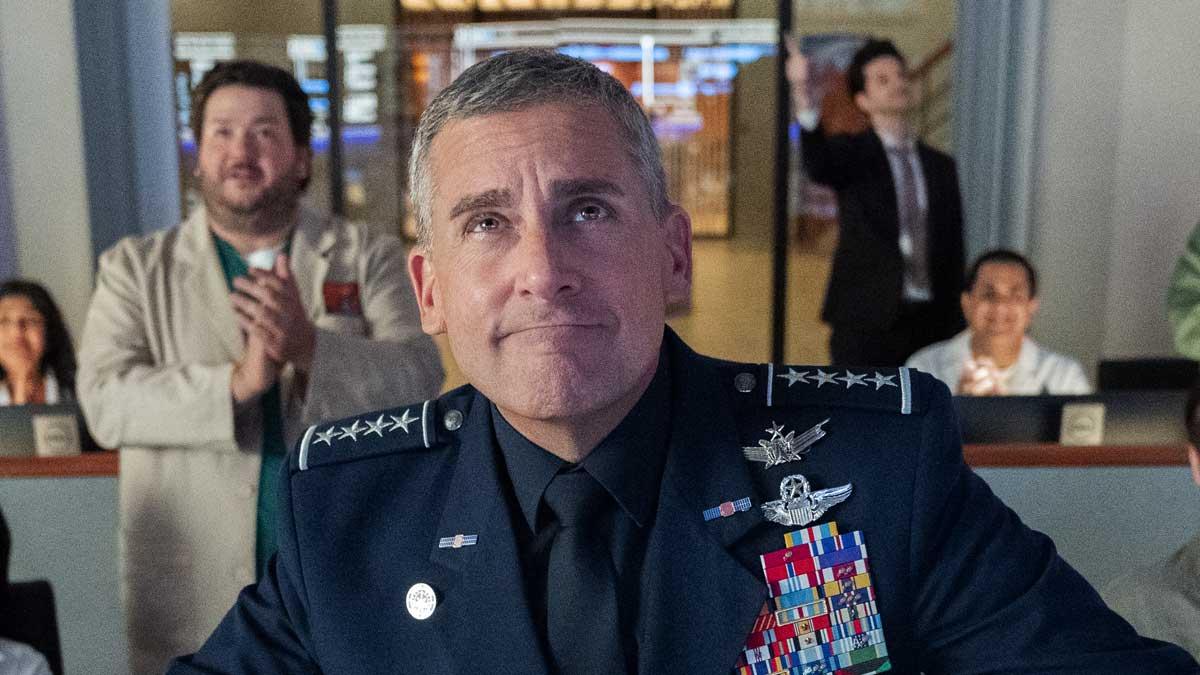 Netflix-ek ezin izan zuen Space Force Trumpekin nahastu nahian