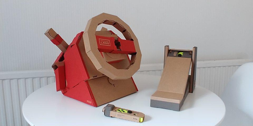 Nintendo Labo Ibilgailuen Kit Iritzia