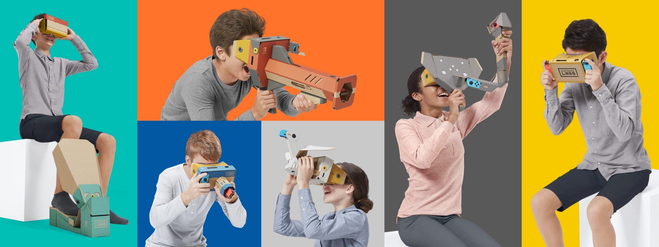 Nintendo Switch VR Kit iragarri da!