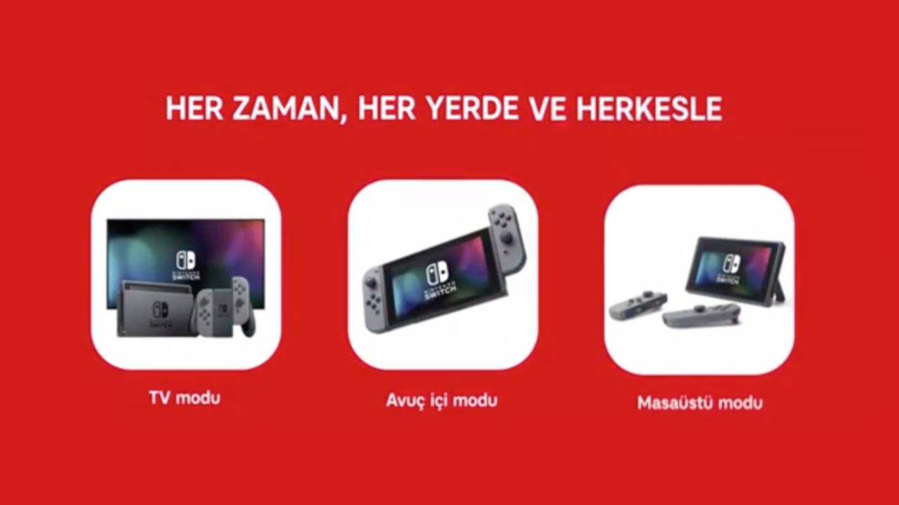 Nintendo Switch iragarkia Turkiako telebista kateetan!
