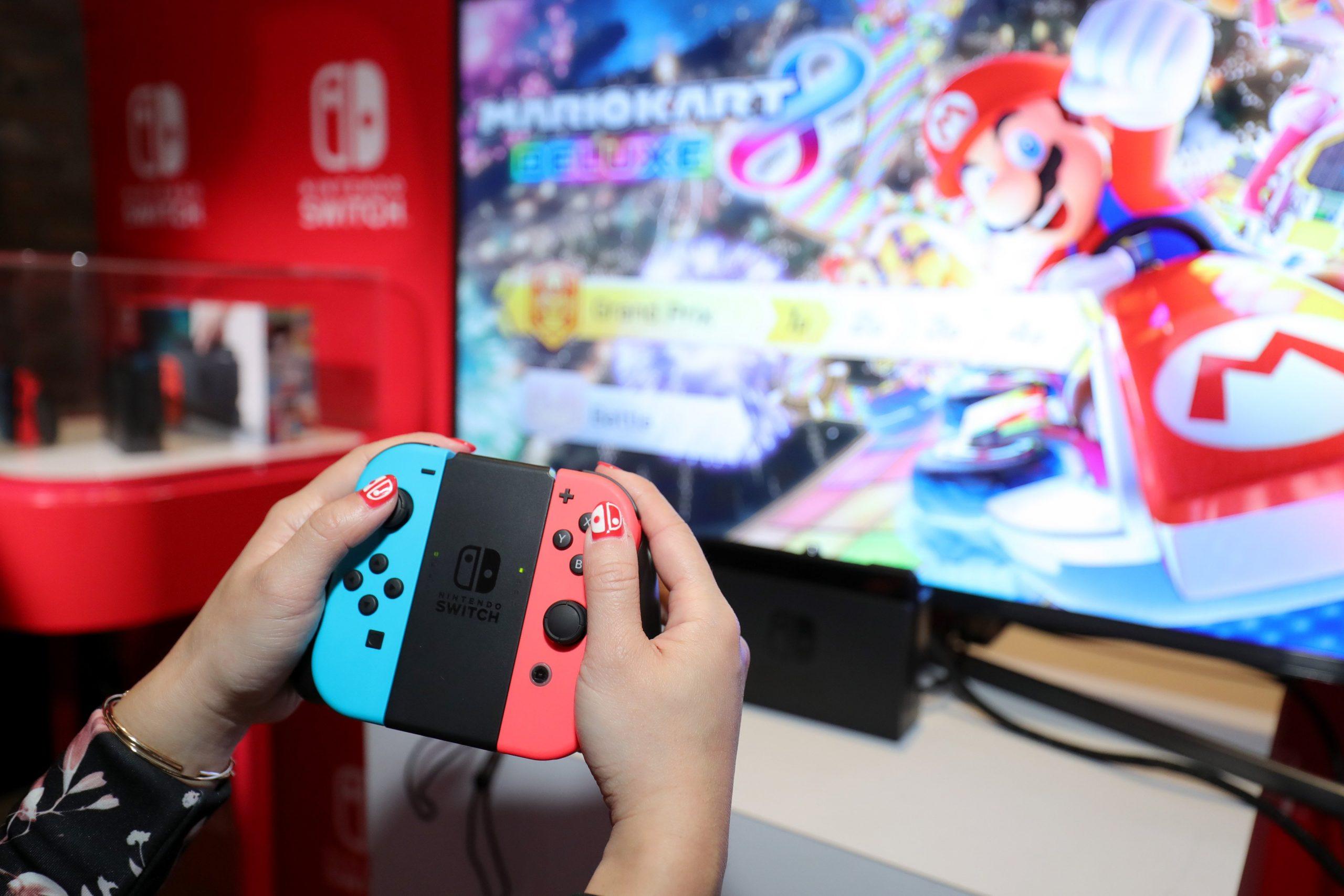 Nintendo Switch jokoak saldu ziren