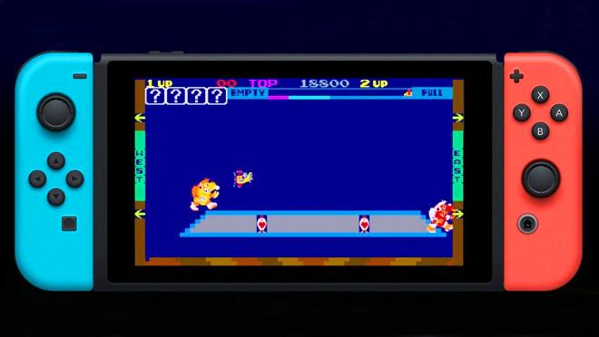 Nintendo Arcade Retro Jokoak