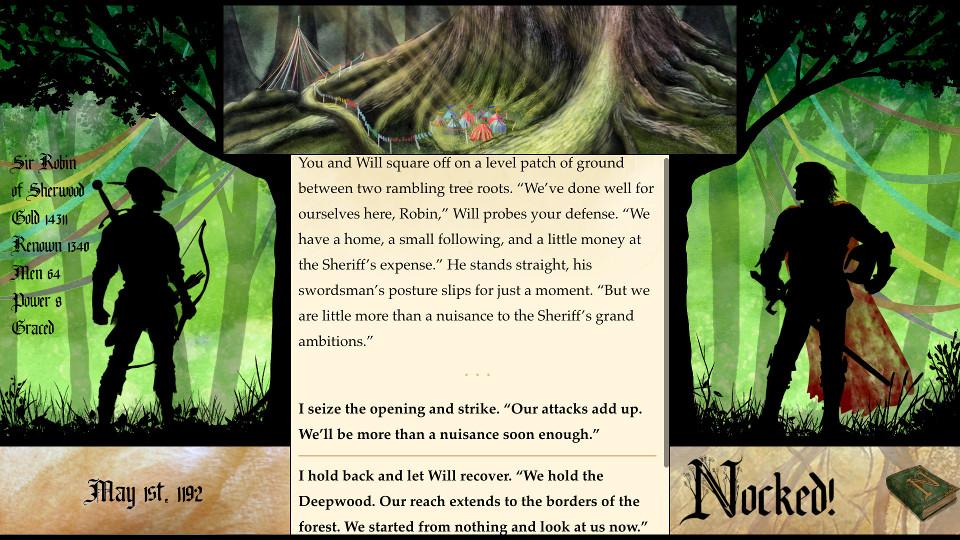 Nocked! Robin Hood-en egiazko ipuinak 1