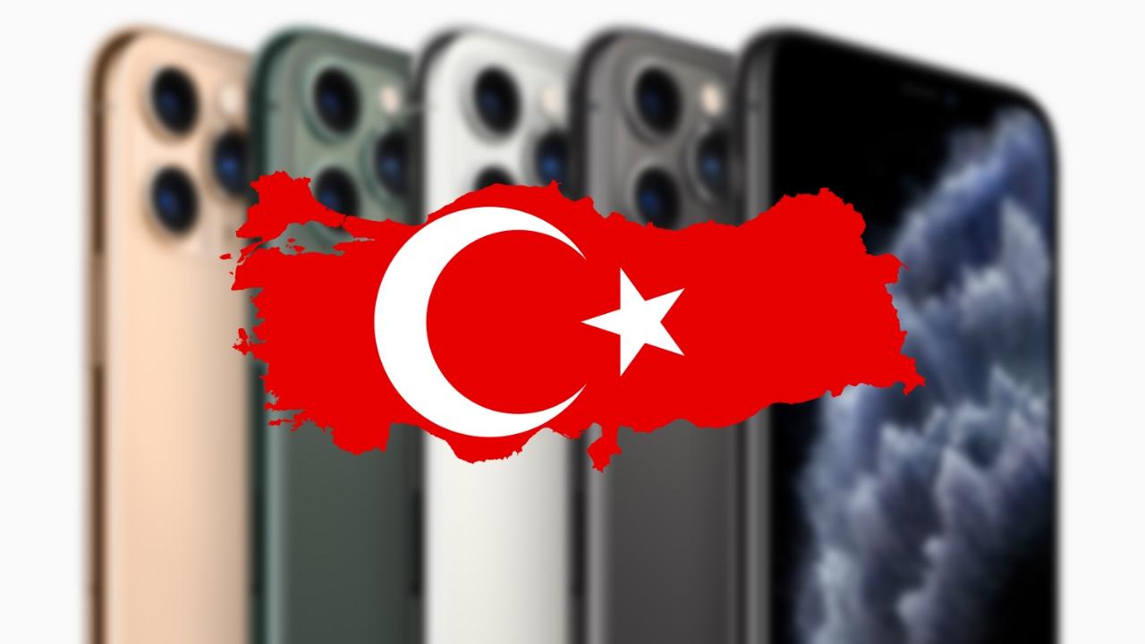 Noiz iPhone saldu egingo da Turkian 11?